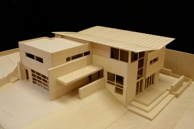 Designblendz 3d architectural hand built models the y for Digital house design